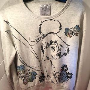 Disney Boutique Tinker Bell Sweatshirt